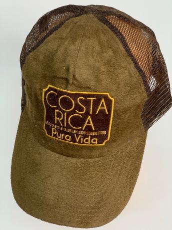 Бейсболка Costa Rica из замши с сеткой
