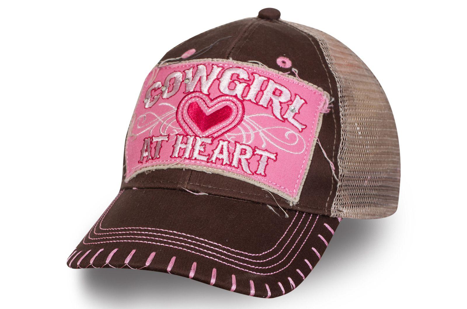 Бейсболка Cowgirl At Heart | Заказать женские бейсболки