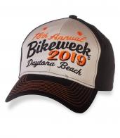 СВЕЖАК! Байкерская бейсболка Daytona Bike Week.