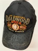 Бейсболка Deadwood с кожаным козырьком