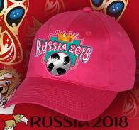 Бейсболка для болельщицы RUSSIA 2018.