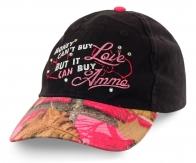 Бейсболка для девушки с характером: за деньги любовь не купить. А стильную кепочку - нужно! Заказывайте!