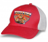 """Бейсболка для патриотов """"Russia""""."""