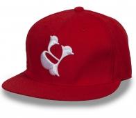 Красная бейсболка для хиперов, хопперов и рэперов