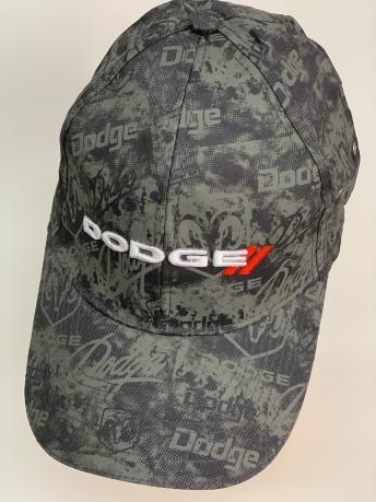 Бейсболка Dodge из принтованной ткани