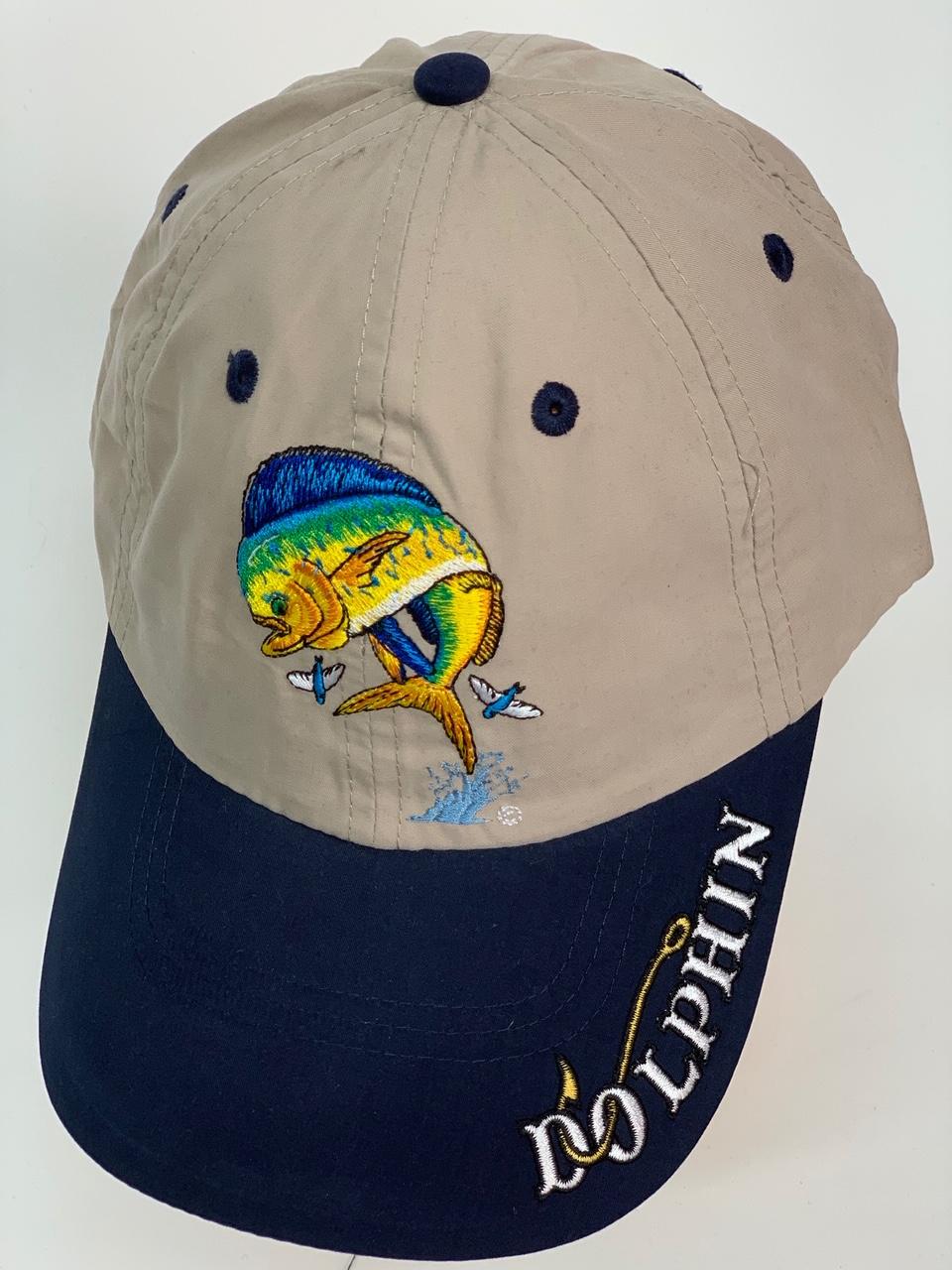 Бейсболка Dolphin с яркой вышивкой