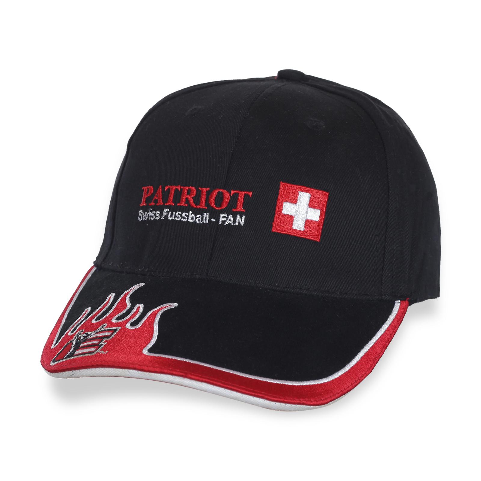 Бейсболка фанатского клуба PATRIOT