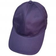 Бейсболка фиолетового цвета классического кроя