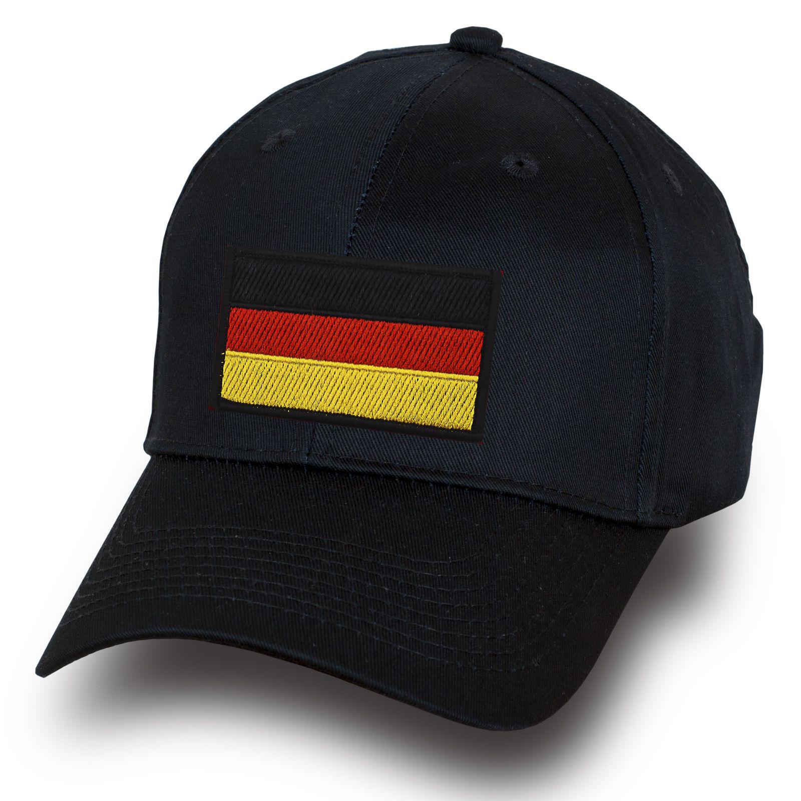 """Бейсболка """"Флаг Германии"""" - купить с доставкой"""