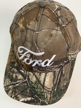 Бейсболка Ford из камуфляжной ткани