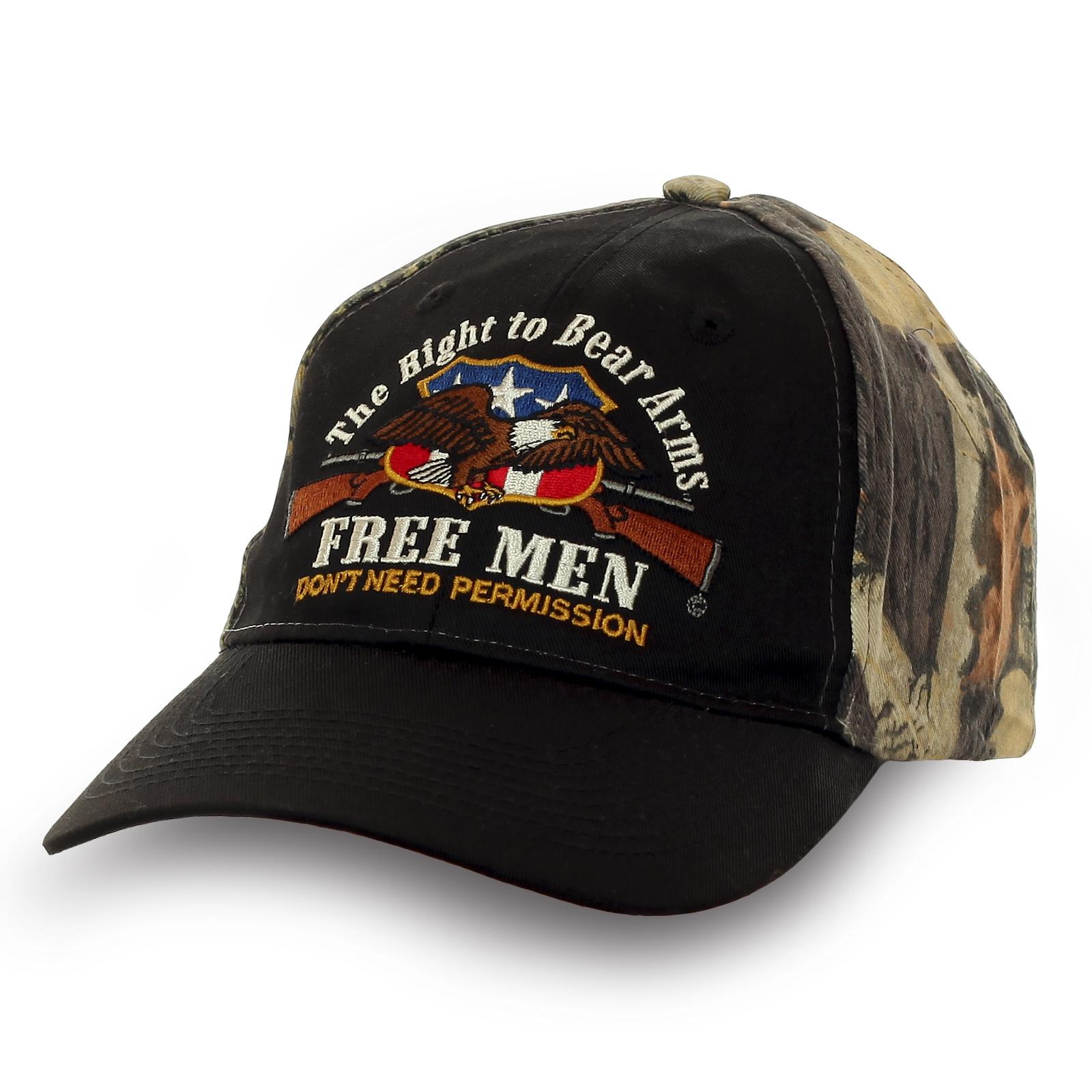 Бейсболка Free Men