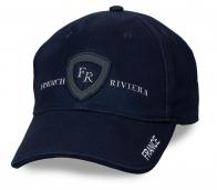 НЕ экономь на своём имидже! Тёмно-синяя бейсболка French Riviera для мужчин – одна из самых популярных моделей за рубежом. Теперь и в твоём гардеробе!