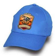 Бейсболка голубая РУССКАЯ ОХОТА