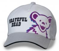 Прикольная бейсболка с эмблемой рок-группы Grateful Dead