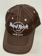 Бейсболка Hard Rock коричневого цвета