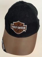 Бейсболка Harley-Davidson с коричневым кожаным козырьком