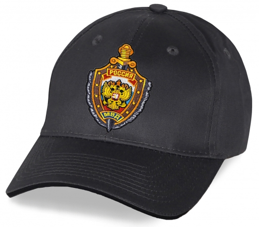 Бейсболка хлопковая Россия МВД
