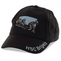 Спортивная бейсболка HSC Brigels с вышитой символикой санного спорта. Ограниченный тематический тираж уже в наличии в Москве по сниженной цене!