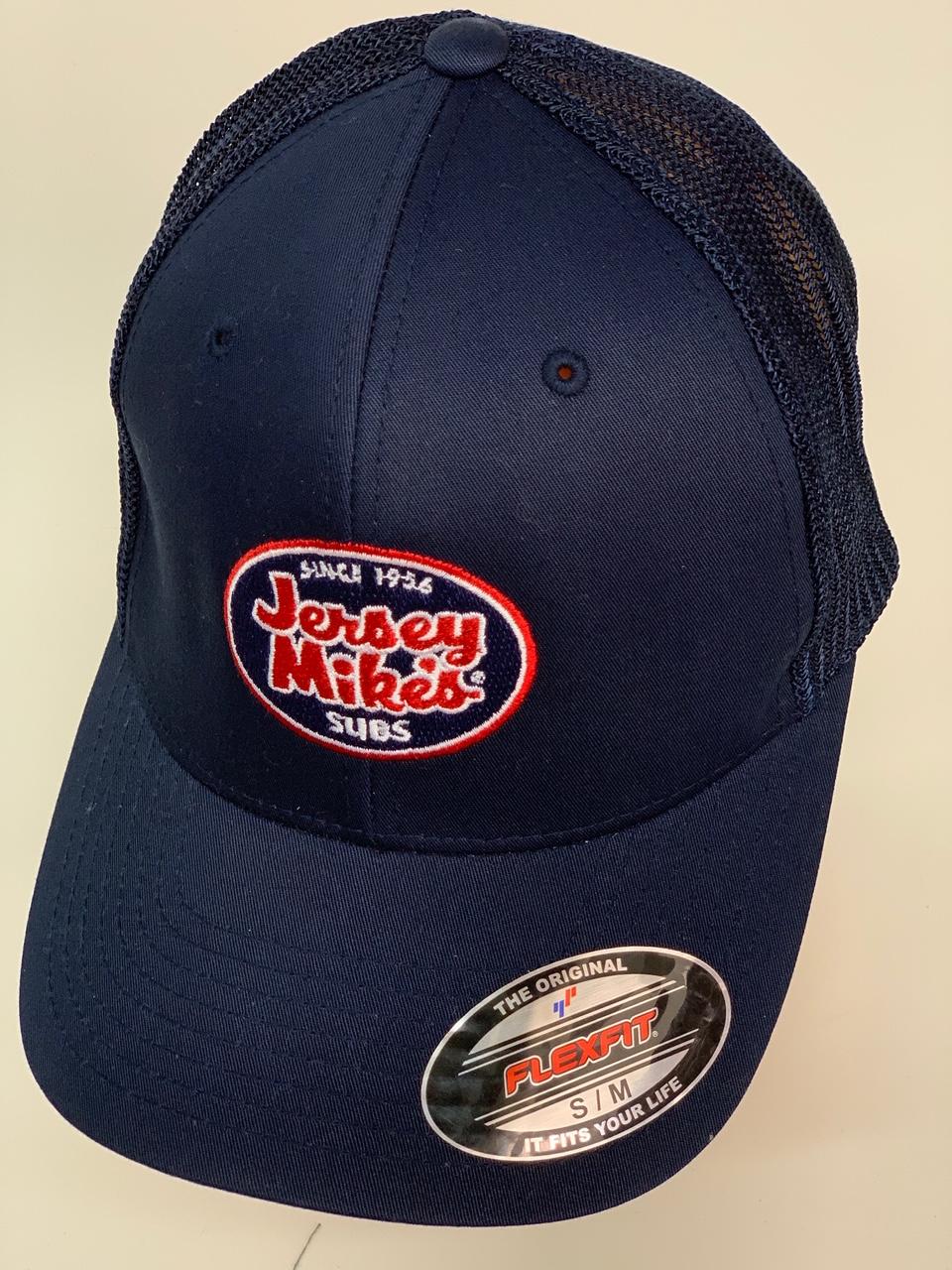 Бейсболка Jersey Mires темно-синего цвета с сеткой