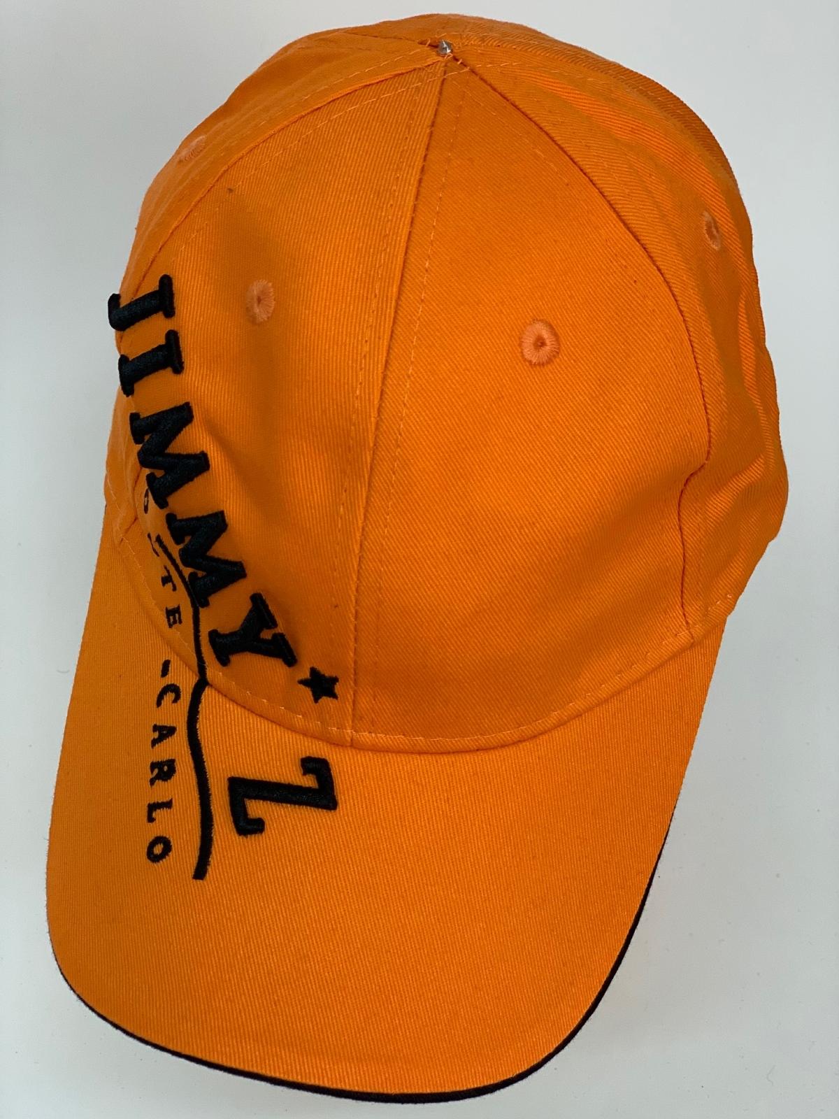 Бейсболка Jimmy Z оранжевого цвета