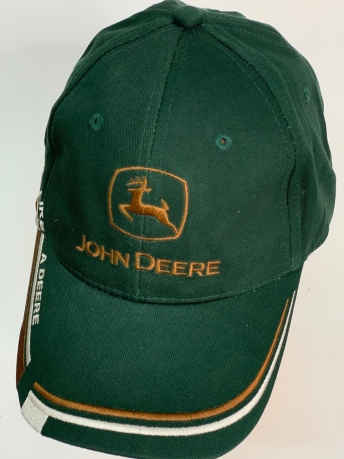 Бейсболка John Deere темно-зеленого цвета