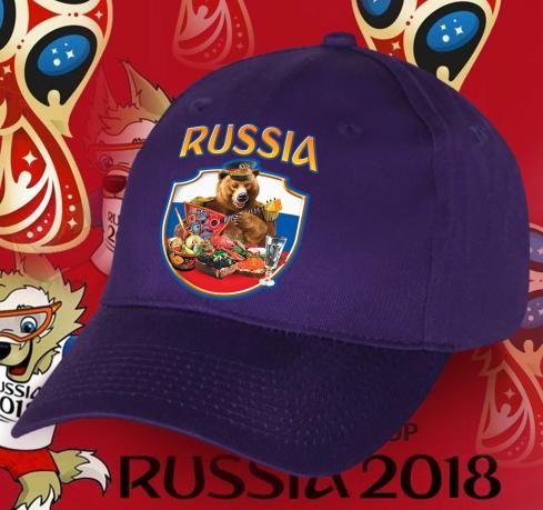 Мега бейсболка с Русским Медведем
