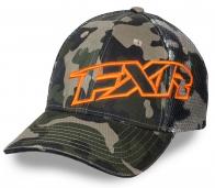 Камуфляжная бейсболка с логотипом FXR