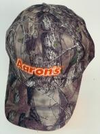Бейсболка камуфляж Aaron's с вышивкой