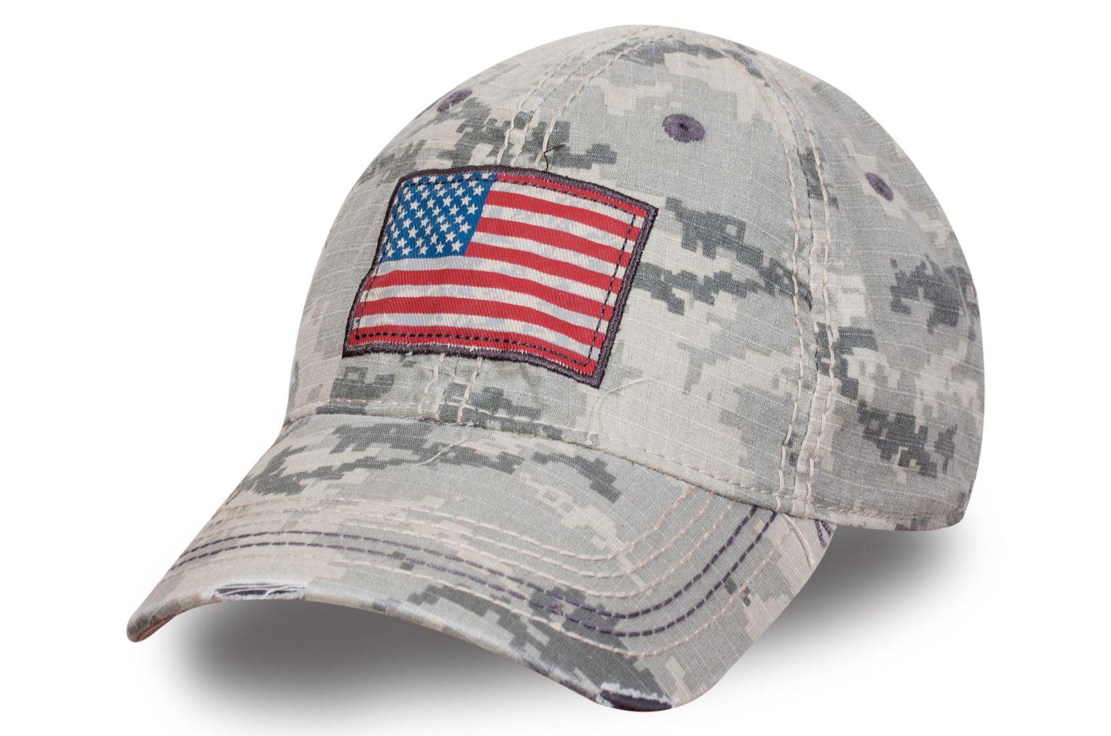 Бейсболка камуфляж армии США
