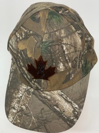 Бейсболка камуфляж Browning с кленовым листком
