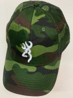 Бейсболка камуфляж Browning с перфорированной тыльной стороной