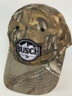 Бейсболка камуфляж Busch с нашивкой