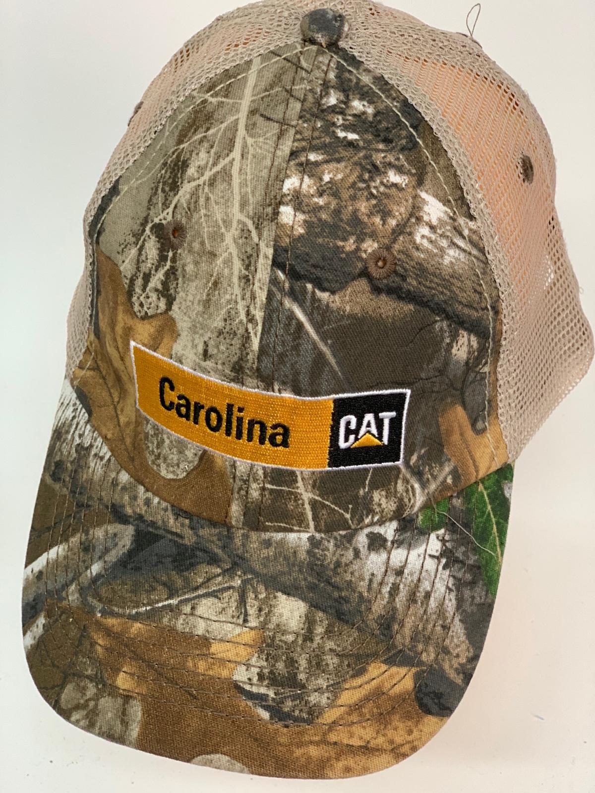 Бейсболка камуфляж Carolina Cat с сеткой