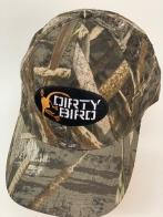 Бейсболка камуфляж Dirty Bird с вышивкой на тулье