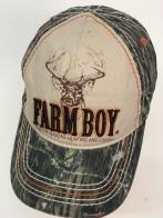 Бейсболка камуфляж Farm Boy с принтом оленем для подростка