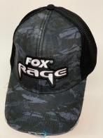 Бейсболка камуфляж Fox Rage с черной сеткой