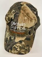 Бейсболка камуфляж Godwin Pumps с вышивкой