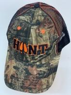 Бейсболка камуфляж Hunt с вышитыми заячьими следами