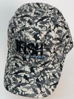 Бейсболка камуфляж IFish с вышивкой