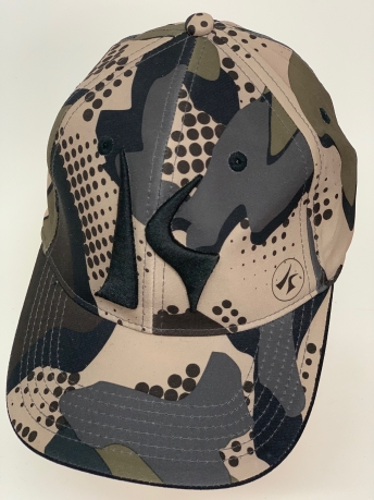 Бейсболка камуфляж Killik с черной вышивкой
