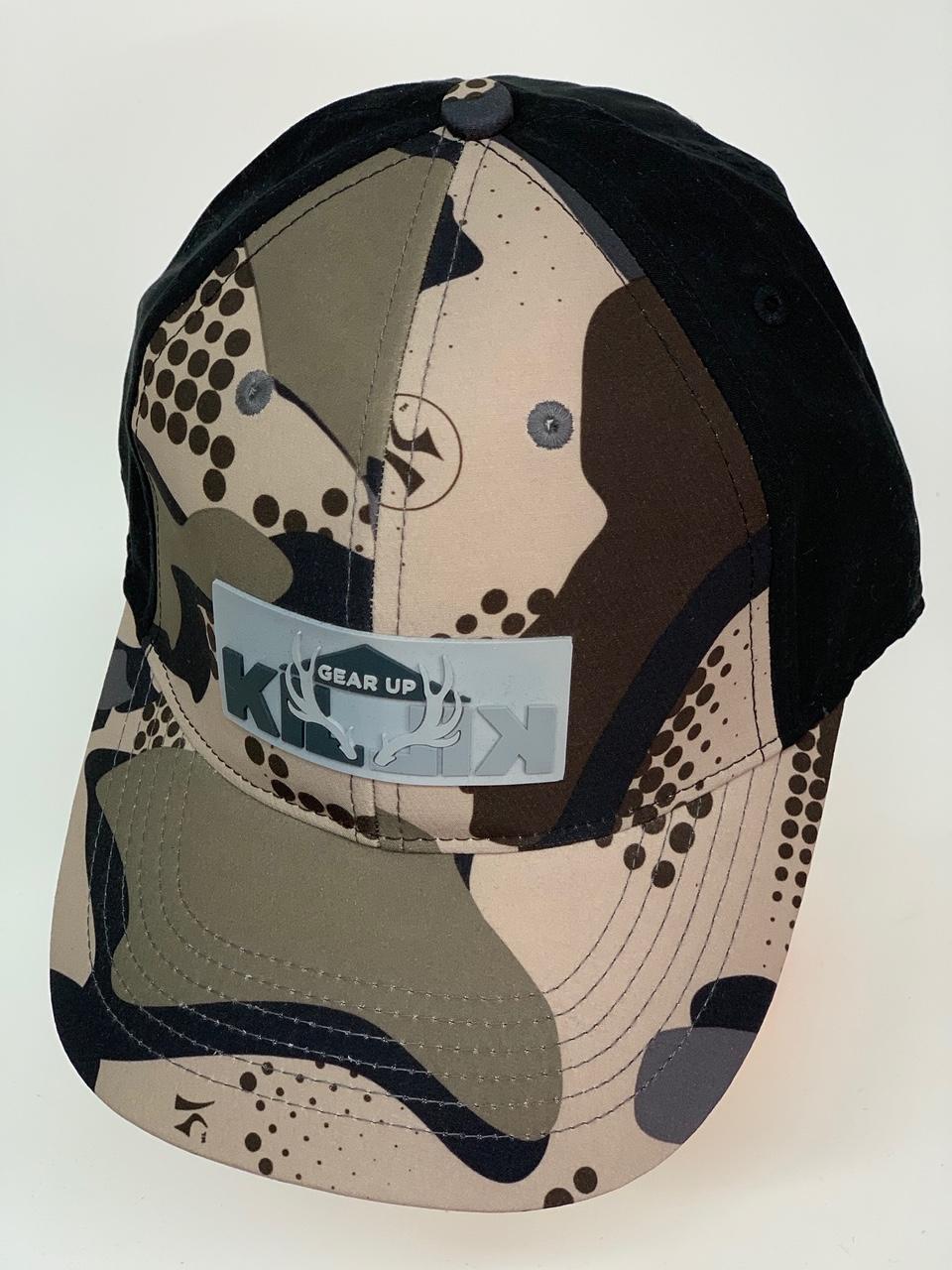 Бейсболка камуфляж Killik с черным тылом