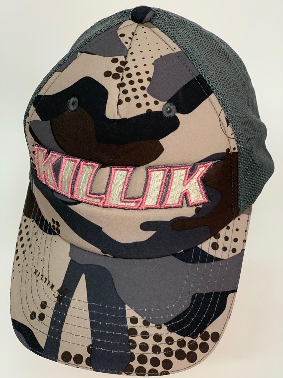 Бейсболка камуфляж Killik с темно-оливковой сеткой