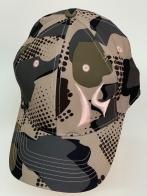 Бейсболка камуфляж Killik со светлой вышивкой