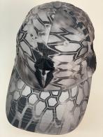Бейсболка камуфляж Kryptek с черной вышивкой