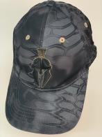 Бейсболка камуфляж Kryptek с вышивкой черного цвета