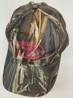 Бейсболка камуфляж Soyth Carolina с розовой вышивкой
