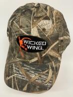 Бейсболка камуфляж Wicked Wing с вышивкой
