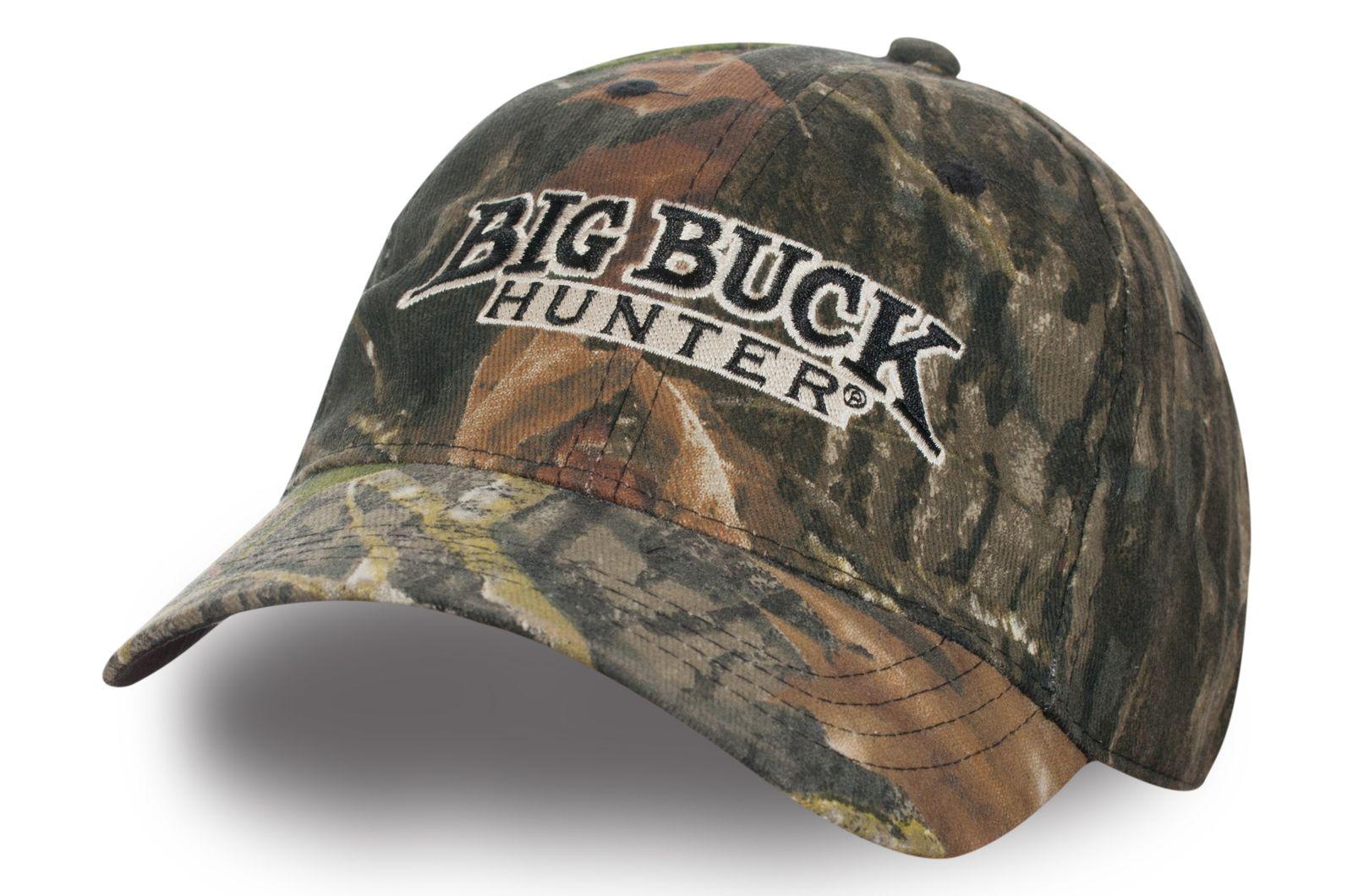 Бейсболка камуфляжная Big Buck Hunter