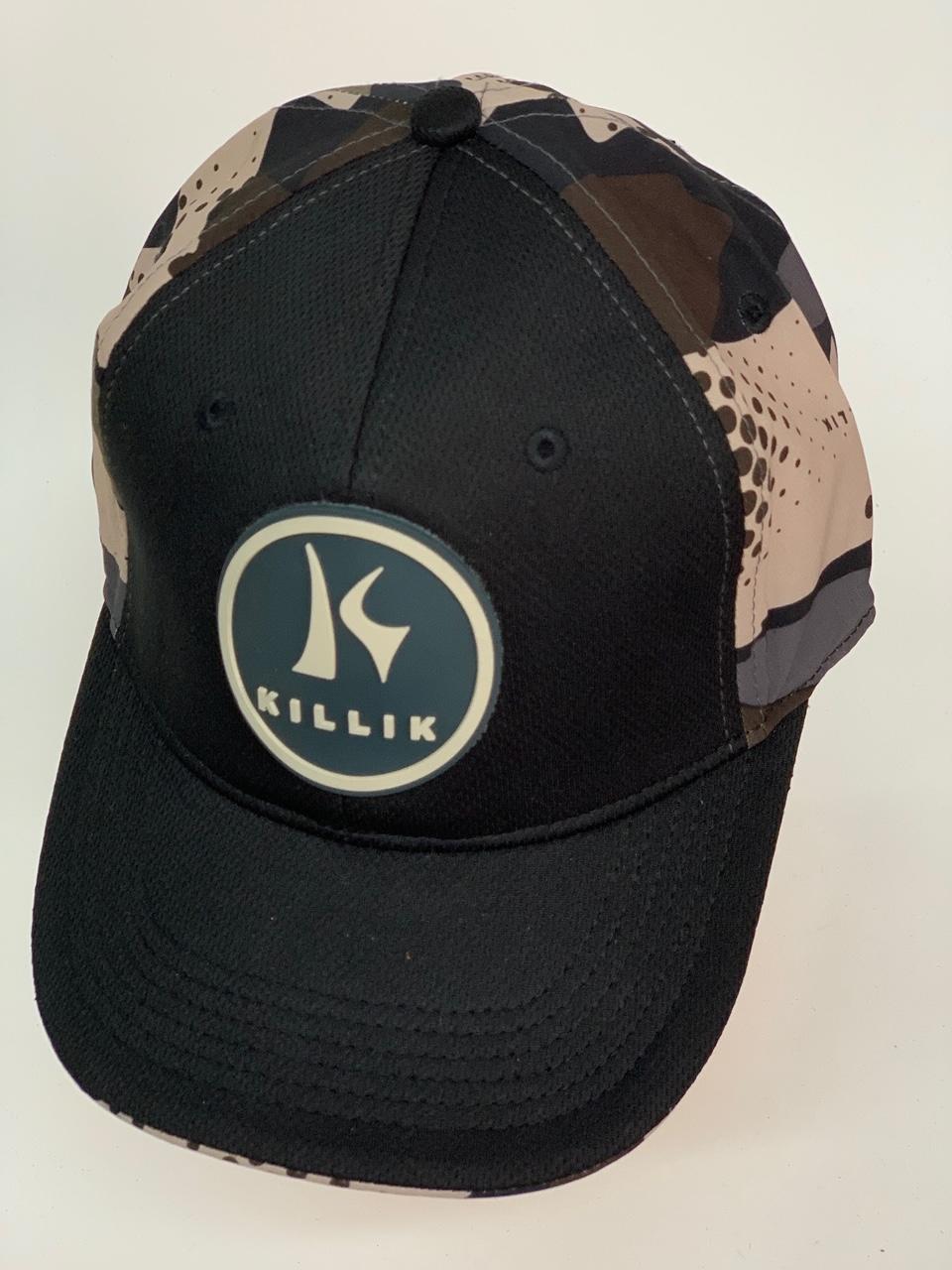 Бейсболка Killik черного цвета с камуфляжным тылом