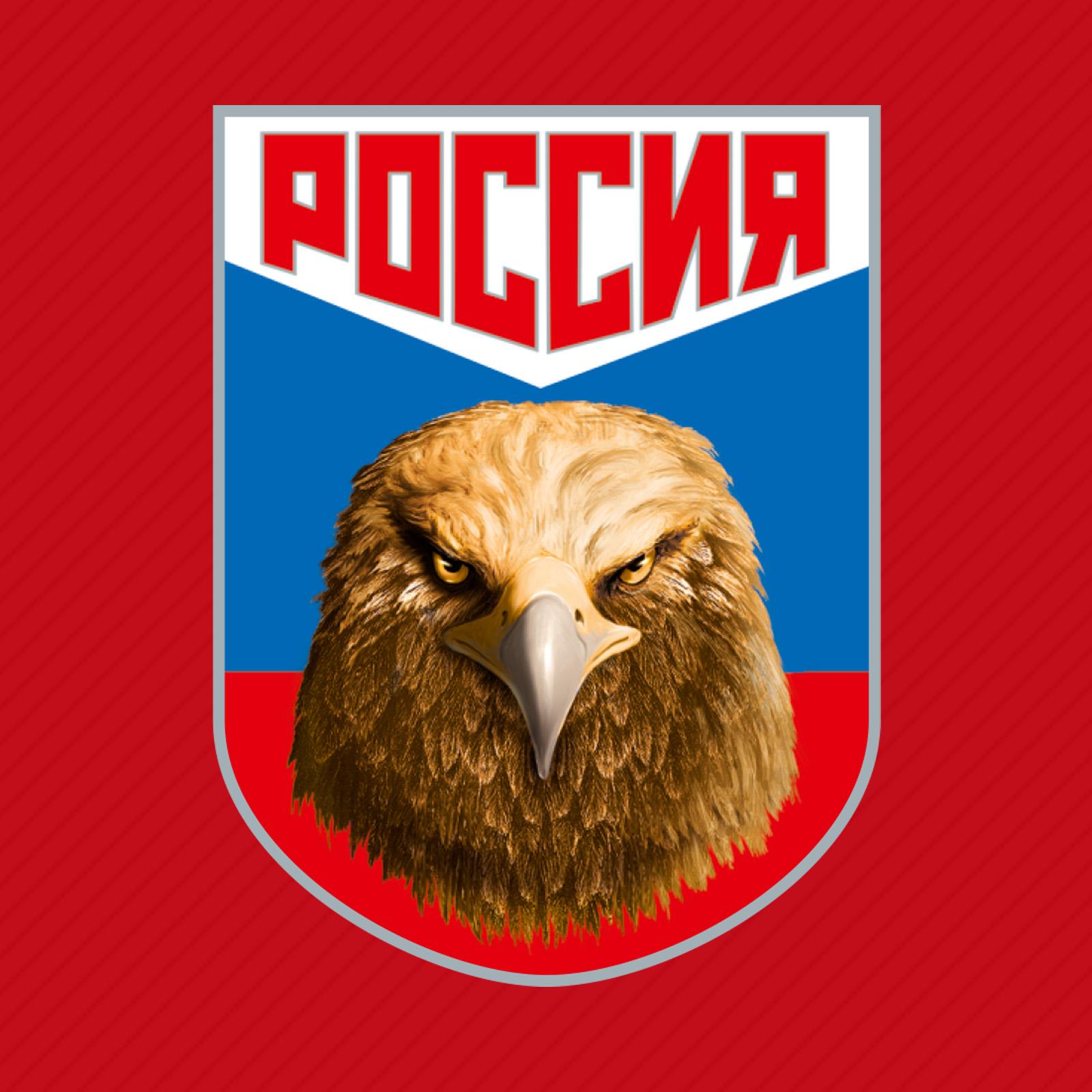 Купить бейсболку красную с термотрансфером Россия выгодно